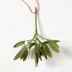 Paper Mistletoe Decoration by A Petal Unfolds