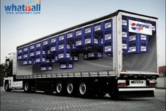 Truck – Pepsi Light From the lard marketing council Epic writing advice. Street Marketing, Guerilla Marketing, Marketing And Advertising, Marketing Tools, Experiential Marketing, Advertising Campaign, Funny Commercials, Funny Ads, Funny Jokes