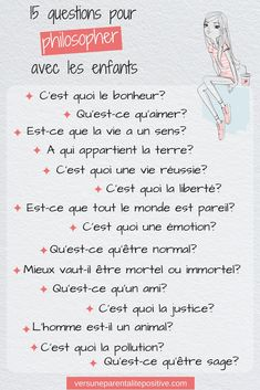 15 questions to philosophize with children - towards positive parenting, Education Education Positive, Kids Education, Kids And Parenting, Parenting Hacks, Languages Online, French Expressions, Montessori, Activities For Kids, Stress