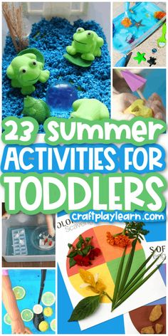 Need some activities to fill your summer bucket list with your toddler? We've compiled a wonderful collection of fun summer activities for toddlers that you and your little one are going to love. With the upcoming warm weather and slower-paced days, you'll need a break from the usual routine to cool down or just get those wiggles out. #summer #activities #toddlers #toddleractivties #craftsforkids Summer Activities For Toddlers, Summer Fun For Kids, Summer Diy, Summer Crafts, Toddler Activities, Calming Activities, Science Activities For Kids, Science Experiments Kids, Easy Crafts For Kids