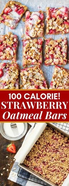 The most effortless, best strawberry cereal bars with spread scrap beating. One bowl, straightforward fixings, and entire grain—ideal for a tidbit or treat! What Is Healthy Food, Healthy Diet Recipes, Healthy Desserts, Cooking Recipes, Healthy Eating, Healthy Strawberry Recipes, Strawberry Desserts, Healthy Treats, Bread Recipes