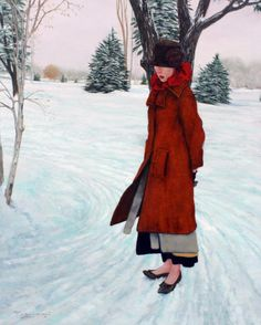 """Cold Toes, Warm Thoughts""  Fred CALLERI"