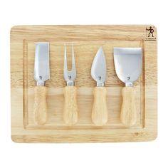 J.A. Henckels International 5-pc. Cheese Knife Set, Lt Brown