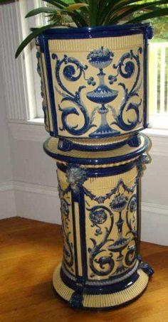 Victorian Jardiniere and Pedestal