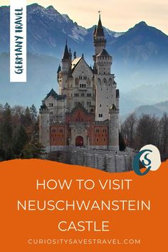 Are you looking for visit Germany's famous Disney castle? Here are Tips for Visiting Neuschwanstein Castle on a Day Trip from Munich, including tours and skip the line tips. I things to do in Germany I Germany travel I what to do in Germany I where to go in Germany I places to go in Germany I Neuschwanstein Castle tips I Germany travel I what to do in Munich I things to do in Munich I destinations in Germany I castles in Germany I Munich day trips I Germany day trips I #Germany #Europe Travel Europe Cheap, European Travel Tips, Europe Travel Guide, Travel Usa, Travel Guides, Budget Travel, Cities In Germany, Visit Germany, Germany Castles