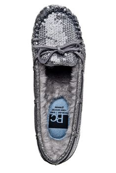 want these for christmas..BC Footwear - All Decked Out Casual Flat - Pewter at DNA Footwear