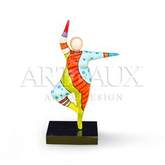 Dancing #Beauty sculpture with beautifull colors