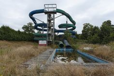 abandoned water parks | Abandoned water park Source: Abandoned.be (flickr) - Destroyed and ...
