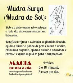Magia no Dia a Dia: Mudra: Surya Chakra Meditation, Kundalini Yoga, Chakra Healing, Yoga Mantras, Mudras, Sup Yoga, Tantra, Wicca, Inspirational Quotes