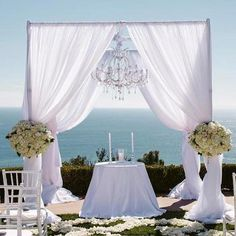 4 Post Height Adjustable Canopy Photo Exhibition Booth - Hardware Kit Only | eFavorMart Beach Wedding Reception, Wedding Canopy, Wedding Stage, Wedding Ceremony, Wedding Photos, Wedding Venues, Wedding Backdrops, Lily Wedding, Wedding Ideas