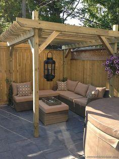 backyard seating plans