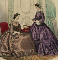 La Modes Illustree, November 1862