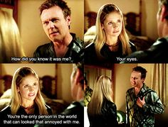 I love the relationship between Giles and Buffy!