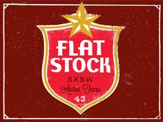 Flatstock Lone Star SXSW