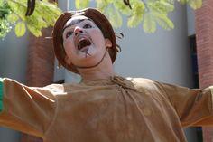 """O projeto CenaMúsica, da Fundação Municipal de Cultura, apresenta o espetáculo """"O Caboclo Zé Vigia"""", da Cia de Teatro Tirana, na Praça Raimundo José Lana, às 16h do sábado, 7. A entrada é Catraca Livre."""