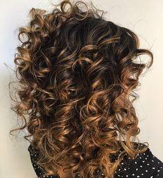 cabelos cacheados com luzes - Pesquisa Google