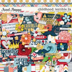Childhood: Terrible 2s by Heather Roselli & Sugary Fancy