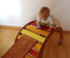 Spielmöbel für Kinder selber bauen – mit Schablone / Kletterbogen - Wippe - Wiege - Rutsche - Höhle  – DIY
