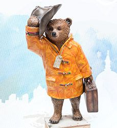 Discover the famous celebrities, designers and artists who each created their own statue for London's Paddington Trail