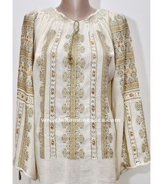 buy embroidered romanian pesant blouse for sale online embroidered top Peasant Blouse, Traditional Outfits, Russia, Costumes, Popular, Embroidery, Boutique, Sweaters, Stuff To Buy