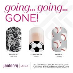 Don't miss out on these wraps! They're going away to make room for the new Spring catalog. Last day to buy these wraps is February 29. Get them while you can!  kimimarie.jamberry.com
