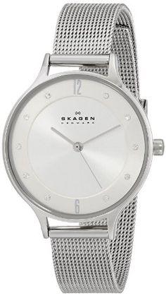 Skagen Women's SKW2149 Anita Quartz 3 Hand Stainless Steel Silver Watch Skagen http://www.amazon.com/dp/B00FWXAJBA/ref=cm_sw_r_pi_dp_ntIRub1KBXR64
