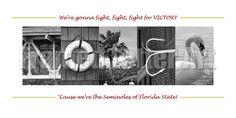 Florida State Seminoles Letter Art 20 x 10 by framedletterart Saturday Night Football, Fight Song, Garnet And Gold, Florida State Seminoles, Letter Art, Sports Teams, Football Season, Lettering, College Football