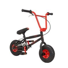 """The Genesis Transit mini BMX bike is a burly mini version of 20"""" BMX bikes designed to take a serious amount of adult sized riding. Built with a fully TIG welded hi tensile steel frame with reinforcement gussets and micro sized heavy duty dropouts, the frame is built to handle abuse.... more details available at https://perfect-gifts.bestselleroutlets.com/gifts-for-babies/kids-bikes-accessories/product-review-for-10-mini-bmx-red-built-with-fully-tig-welded-hitensile-stee"""