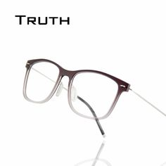 TRUTH new super light Nylon glasses frame for women transparent Gradient stainless optical reading glasses nerd frame oculos gaf