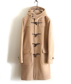 INVERTERE ダッフルコート(CAMEL) http://floraison.shop-pro.jp/?pid=83027983