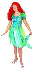 Faschingskostüm Meerjungfrau Kleid