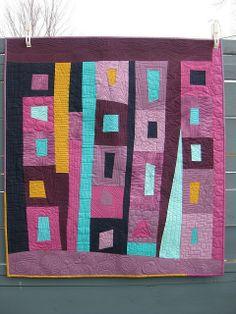 #modern #quilt #improv