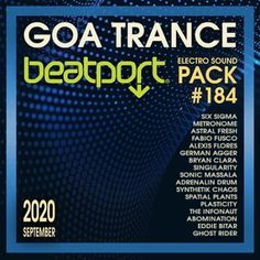 Beatport Goa Trance: Electro Sound Pack #184-1 (2020) Electro Music, Ghost Rider, Trance, Goa, Album, Trance Music, Card Book
