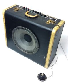 Vintage Suitcase Guitar Amplifier by UpToneCustoms on Etsy