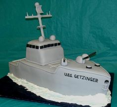battleship cake from Sweet Expressions in Northlake, TX