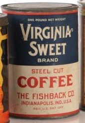Virginia Sweet Brand Steel Cut Coffee