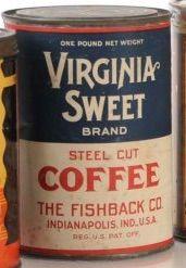 Virginia Sweet Brand Steel Cut Coffee