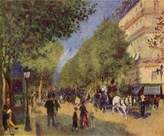 Pierre-Auguste Renoir - Grand Blvd 1875