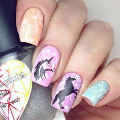31 Unicorn Nails > CherryCherryBeauty.com