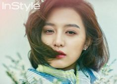 "Kim Ji Won Shows Off Her Feminine Side with ""InStyle"" Magazine 