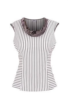 Cowl neck top for busty women – Front Room