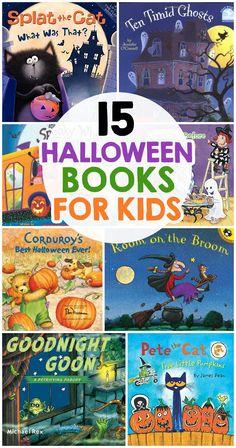 The Best Halloween Books For Kids Halloween Books For Kids, Halloween Stories, Diy For Kids, Crafts For Kids, Arts And Crafts, Five Little Pumpkins, Little Blue Trucks, Heart Art, Heart Kids