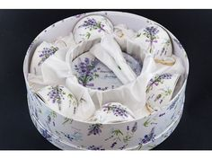 Set 6 ks šálka s podšálkou, LEVANDUĽA Lavender