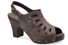 Dansko Rowena Brown Crazy Horse - the most comfortable and sassy sandals I have ever owned.