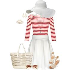 """""""Knots and Stripes"""" by rebecca-jeane on Polyvore"""