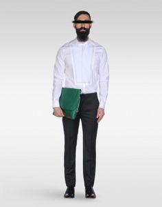 Maison Martin Margiela White shirt long