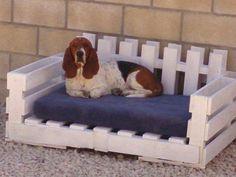 Sofá cama perro palets 2