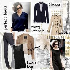 Ines de la Fressange's Parisian Chic - a Bible for anyone who loves classic french style Parisienne Chic, Stylish Outfits, Fashion Outfits, Womens Fashion, Parisian Chic Style, Paris Style, Image Coach, Style Français, French Chic