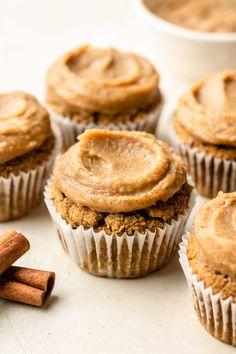 Mini Cupcakes, Chai, Muffin, Paleo, Gluten Free, Vegan, Breakfast, Desserts, Food
