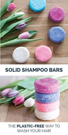 Solid Shampoo Bars The Plastic Free Way To Wash Your Hair Hannah Tasker Simple Living Slow Living Zero Waste Eco Friendly Lifestyle Diy Shampoo, Solid Shampoo, Homemade Shampoo, Organic Shampoo, Simple Shampoo, Lush Shampoo Bar, Homemade Conditioner, Natural Shampoo, Natural Soaps